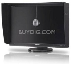 "SyncMaster 30"" Professional-Grade LCD Monitor with LED Backlighting"