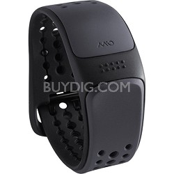 Link Heart Rate Monitor Wrist Band Slate - Longer Strap (56P-GRY-L)