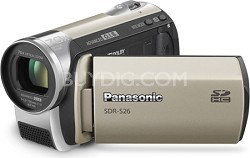 SDR-S26N - SD memory card Camcorder with 70x Zoom & OIS (Gold)