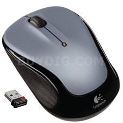 M325 Wireless Mouse in Silver with Designed-for-Web Scrolling - 910-002332