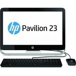 """Pavilion 23"""" HD 23-g010 All-In-One Desktop PC - AMD E2-3800- OPEN BOX"""
