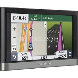 """nuvi 2557LMT 5"""" GPS with Lifetime Maps, Traffic Refurb 1 Year Garmin Warranty"""