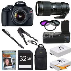 EOS Rebel T5 SLR Digital Camera Wildlife Photographer Bundle