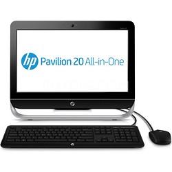 "Pavilion 20"" HD+ LED 20-b310 All-in-One Desktop PC - AMD E1-2500 Acc.Proc."