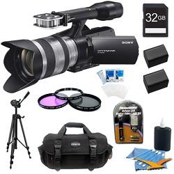 NEX-VG20H HD Interchangeable Lens Handycam Camcorder w/ 18-200mm Lens and Bundle