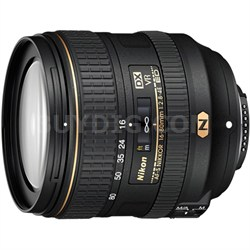 AF-S DX NIKKOR 16-80mm f/2.8-4E ED VR Lens for Nikon - OPEN BOX