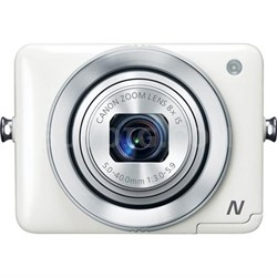 PowerShot N White 12.1MP Digital Camera with WiFi - OPEN BOX