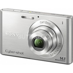 Cyber-shot DSC-W330 14MP Silver Digital Camera - Open Box