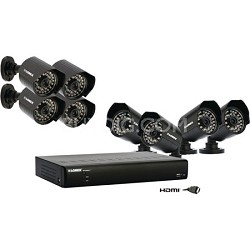 ECO BlackBox+ Surveillance 1TB DVR System with 8 Outdoor Cameras