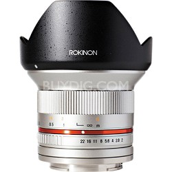 12mm F2.0 Ultra Wide Angle Lens for Fuji X - Silver