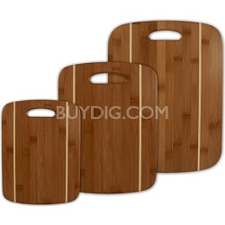Stripe Cutting Board Set