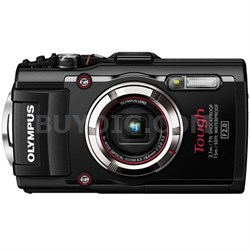 TG-3 16MP 1080p HD Shockproof Waterproof Digital Camera - Black - OPEN BOX