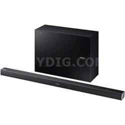 HW-J550 - 2.1 Channel 320 Watt Wireless Audio Soundbar (Black) - OPEN BOX