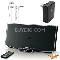 RDPX200IP Bluetooth Wireless Speaker Dock for iPad, iPhone and iPod Bundle