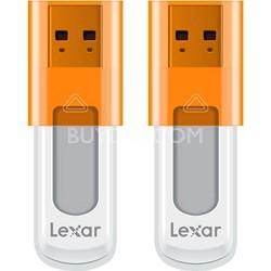 16 GB JumpDrive High Speed USB Flash Drive (Orange) 2-Pack (32GB Total)