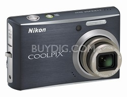 Coolpix S610 Digital Camera (Midnight Black)
