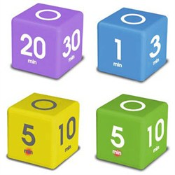 TimeCube Simple Timers - Set of 4 (DF-4567)