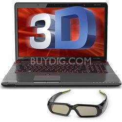 "Qosmio 17.3"" X775-3DV80 3D Notebook PC - Intel Core i7-2670QM Processor"
