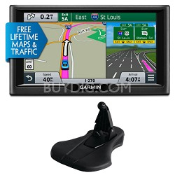 "nuvi 67LMT 6"" Essential Series 2015 GPS Navigation System Maps & Traffic Bundle"