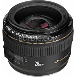 EF 28mm f/1.8 USM Wide Angle Lens for Canon SLR Cameras