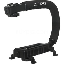 ZE-VH26 Deluxe Video Bracket for Camcorders, DSLR Camras and Point and Shoot Cam
