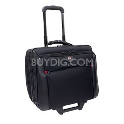 "Swissgear Potomac Rolling Case - Fits up to 17"" Laptop (Black)"