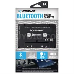 Bluetooth Audio Cassette Car Adapter - Black