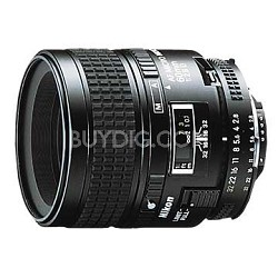 60mm F/2.8D Micro AF Nikkor Lens, With Nikon - OPEN BOX