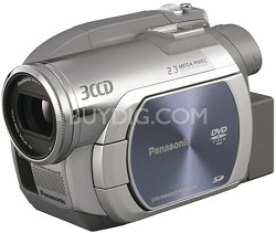 "VDR-D250 - 3CCD DVD Camcorder, 10x Zoom, 2.3 MP Still, SD Card Slot, 2.7"" LCD"