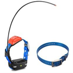 T 5 mini Dog Training Device with Collar - Dog Collar Strap Blue Bundle