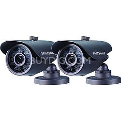SDS-5440BCD High Resolution Weatherproof IR Camera Double Pk