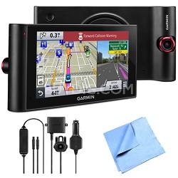 "nuviCam LMTHD 6"" GPS w/ Built-in Dashcam, Maps & HD Traffic Backup Camera Bundle"