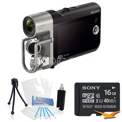 HD Camcorder with Premium Audio - Music Video Recorder Bundle
