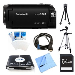HC-W570K HD Camcorder 64GB Bundle