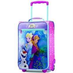 """18"""" Upright Kids Disney Themed Softside Suitcase - Luggage (Frozen) 65774-4427"""