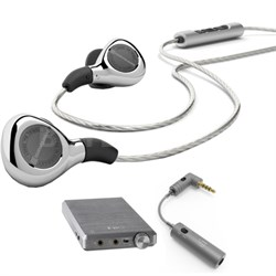 Audiophile Xelento remote Tesla in-ear headset for mobile w/Amp Kit