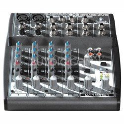 802SR - Xenyx 8 Channel Small Format Mixer Silver