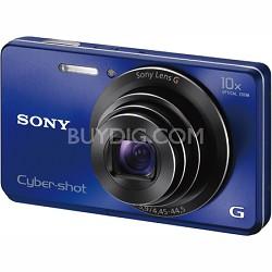 Cyber-shot DSC-W690 16MP 10X Zoom 720p Video Digital Camera (Blue)