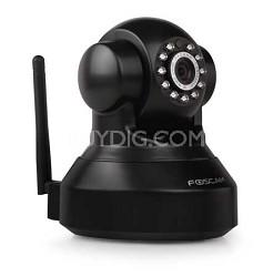 FI9816P Plug and Play 720P HD H.264 Wireless Pan/Tilt IP Cam, Night Vision Black
