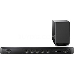 HT-ST9 Hi-Res 7.1 Channel Sound Bar with Wireless Subwoofer