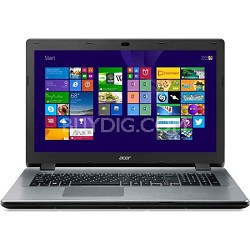 "Aspire E5-771-74E7 Notebook 17.3"" Full HD Intel Core i7-5500U Processor 2.4GHz"