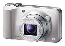 Cyber-shot DSC-HX10V (Silver) 18.2 MP 16x Zoom HD Video w Geotagging - OPEN BOX