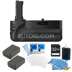 a7 and a7r Vertical Battery Grip Bundle