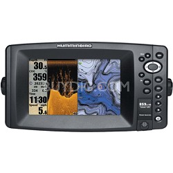 "859ci HD DI Combo 7"" Color Temp/GPS and Sonar Fish-Finder"