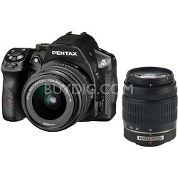 K-30 16.3 MP Weatherproof Digital SLR Camera w/ 18-55mm & 50-200mm AL Lenses Kit