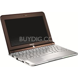 Mini  NB305-N410BN 10.1 inch Netbook PC - Brown - Open Box