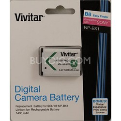 NP-BX1 Replacement Battery for the Select Sony Cameras and Camcorders