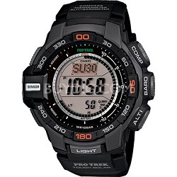 PRG270-1 Pro Trek Solar Powered Triple Sensor Sport Watch