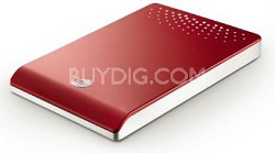 500GB USB2.0 Freeagent Go (Red)