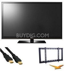 50PT350 - 50 Inch 720p 600Hz Slim Bezel Plasma HDTV Bundle